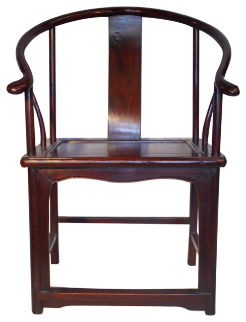 oriental monk chair with ox horn back asian armchairs and accent chairs chinese inspired furniture