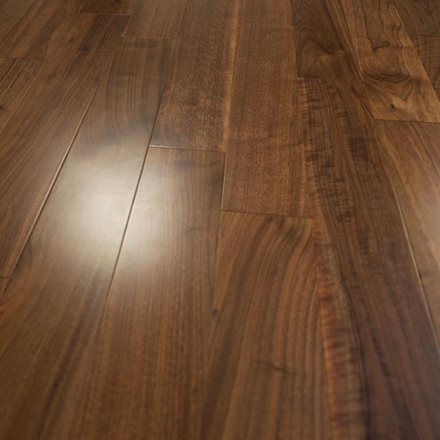 Walnut Prefinished Engineered Wood Flooring 5 X5 8 With 4mm Wear Layer