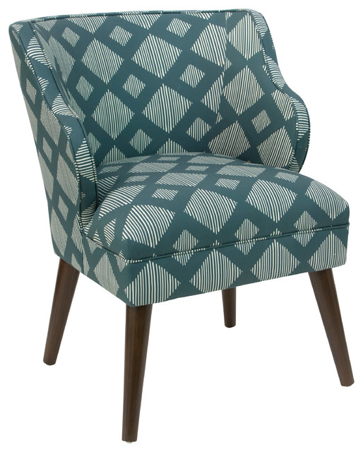 Skyline Furniture Upholstered Accent Chair Jacobean