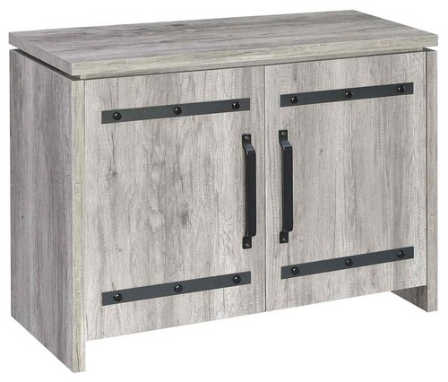 Coaster Rustic Gray Accent Cabinet