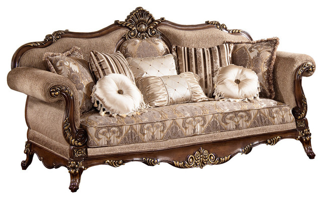 Winfrey Traditional Sofa Victorian