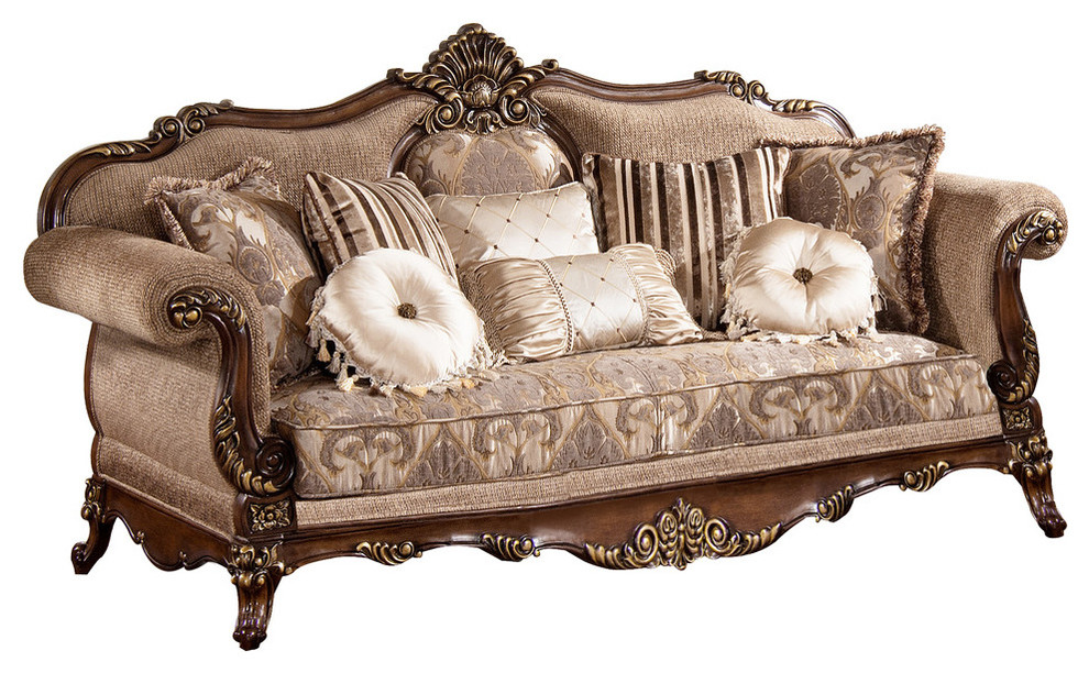Export Inc Winfrey Traditional Sofa