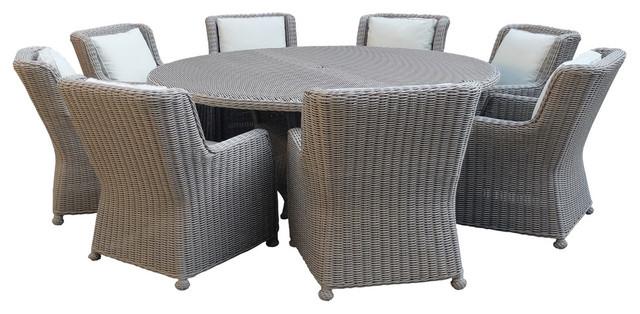 Marquesas Premium Quality 8 Seater Patio Dining Set