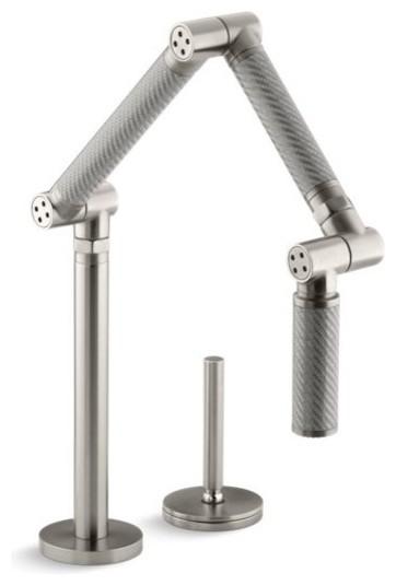 Kohler Karbon Articulating Kitchen Faucet w/ 13\
