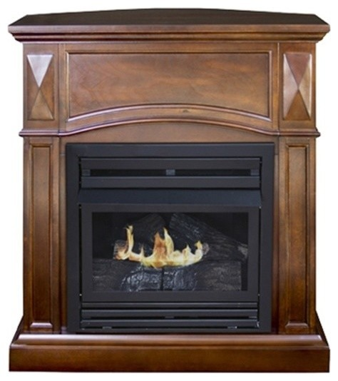 Kozy World Gfd2042 Belmont Propane Or Natural Gas Vent Free Fireplace