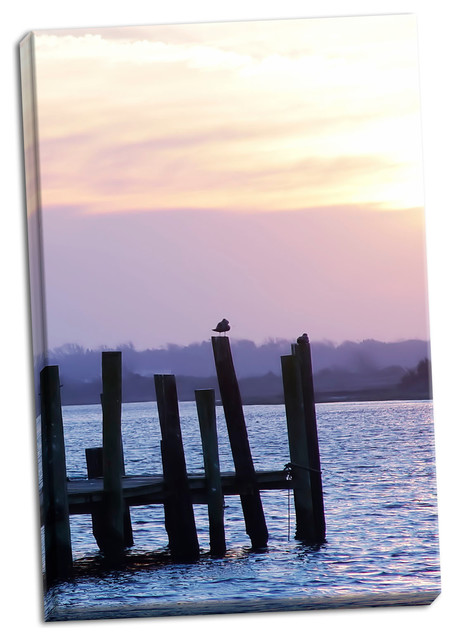 Fine Art Photograph Seagulls At Sunset Fine Art Paper Giclee Beach Style Prints And Posters By Gango Home Decor