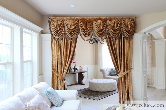 poles and lined products b cheap x furniture curtain m velvet home curtains from gold metallic radiance rec fully