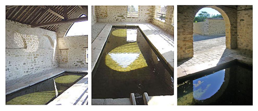 Rénovation d'un lavoir public (Seine-et-Marne)