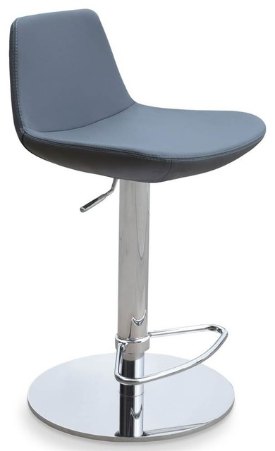 Awesome Adjustable Height Bar Stool Gray Ppm Cjindustries Chair Design For Home Cjindustriesco