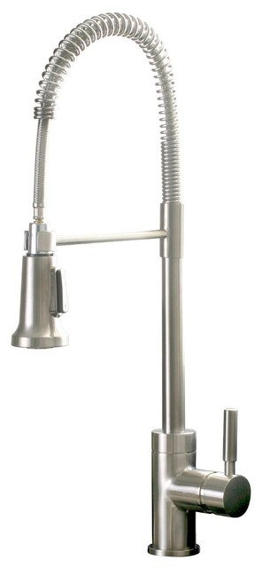 Frankie Kitchen Faucet, Brushed Nickel