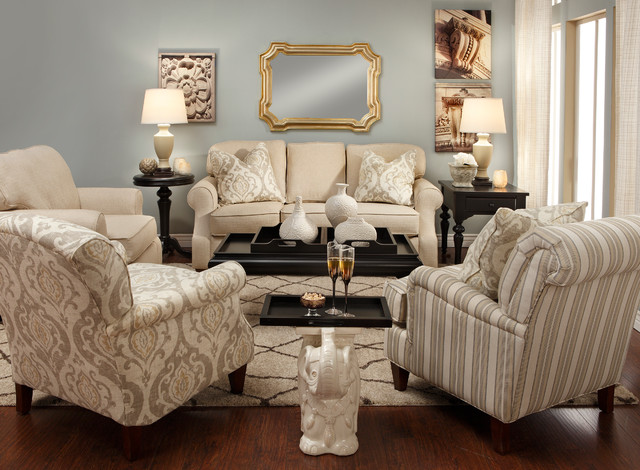 Varela Sofa Group Traditional Living Room Denver By Furniture Row