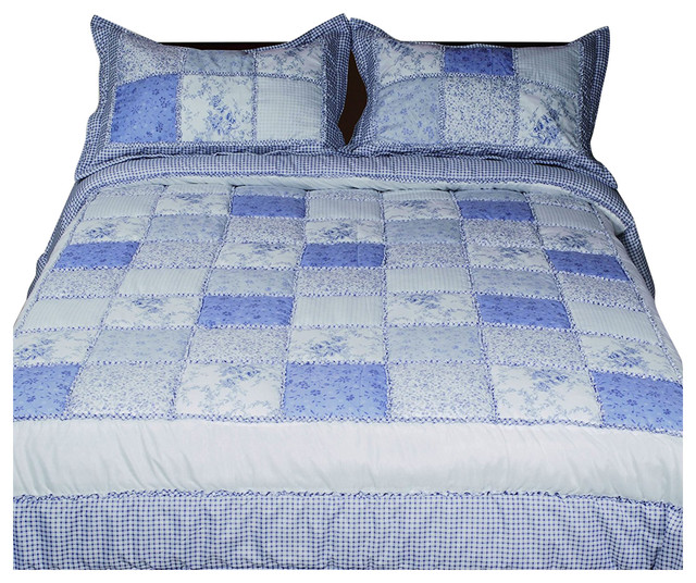 Livingston Home Garden Diamond Bed In A Bag With Comforter