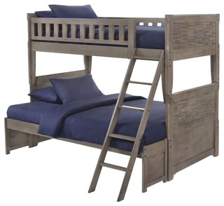 Endicott Bunk Bed, Twin Over Full, Bed Only