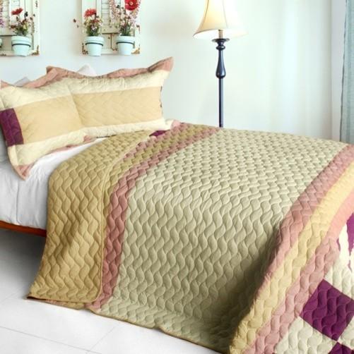 Fantasy Couple] 3PC Patchwork Quilt Set (Full/Queen Size) - Modern ... : modern quilt set - Adamdwight.com