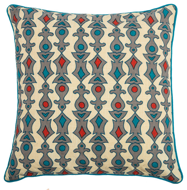 Decorative Pillows For Bed Green : Rizzy Home Decorative Pillow, Green - Contemporary - Decorative Pillows - by Rizzy Home