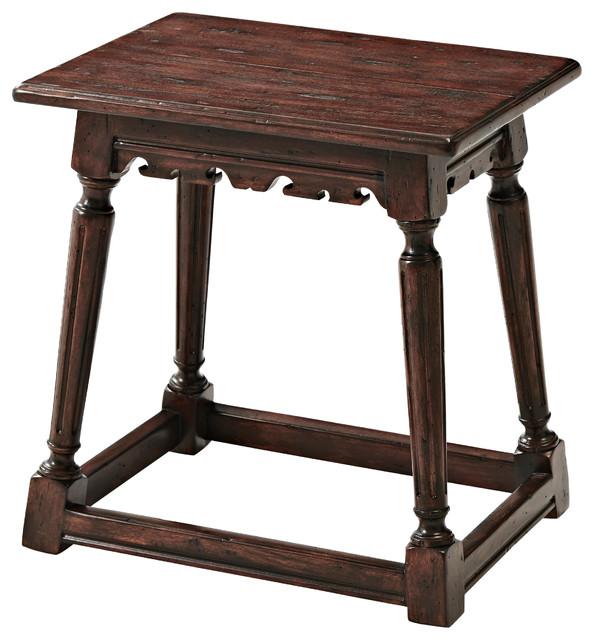 Incredible Old World Stool Dailytribune Chair Design For Home Dailytribuneorg
