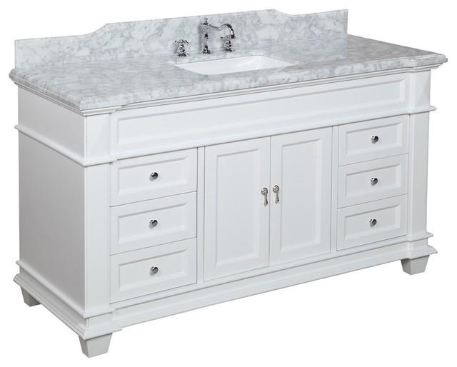 Elizabeth 60 Quot Bathroom Vanity Transitional Bathroom