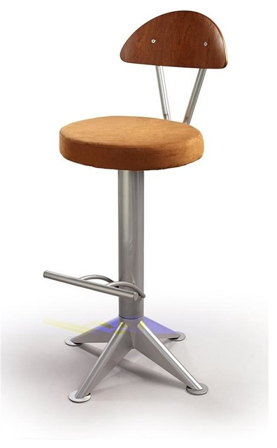Shop Houzz Createch Swivel Bar Stool Morgan Bar
