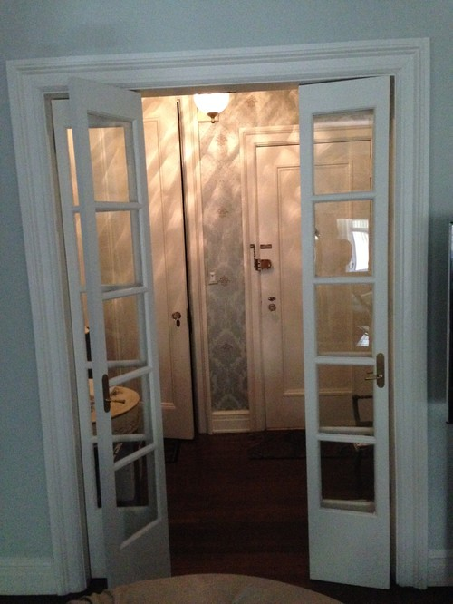 Glass Foyer Doors : Need help picking glass for french doors in foyer