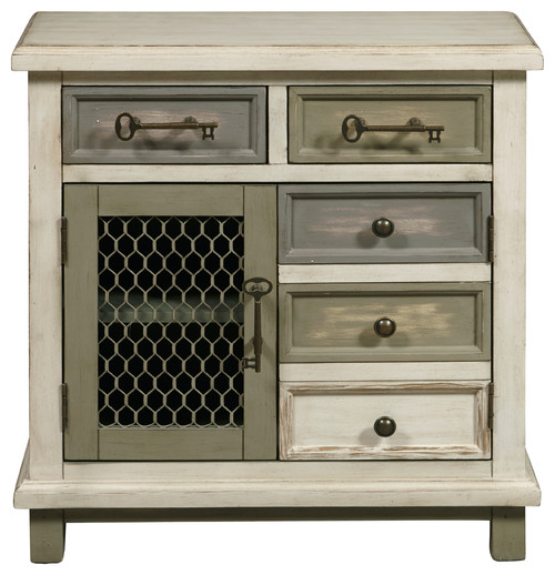Eclectic Door/Drawer Accent Chest