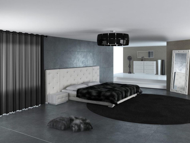 Low Profile Design Master Bedroom With Matching Set Pieces Modern Bedroom Furniture Sets