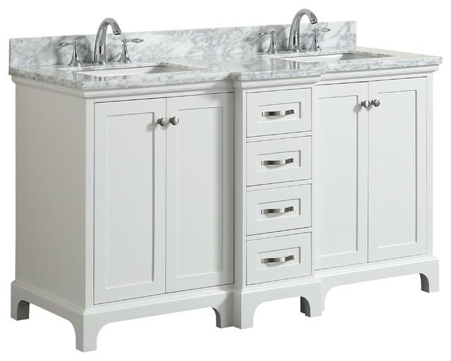 "Winslow Bathroom Vanity With Sink, 60""."
