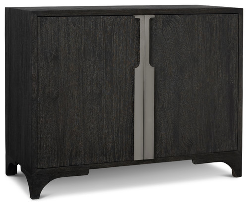 Palmer Wood 2-Door Chest, Mink Finish
