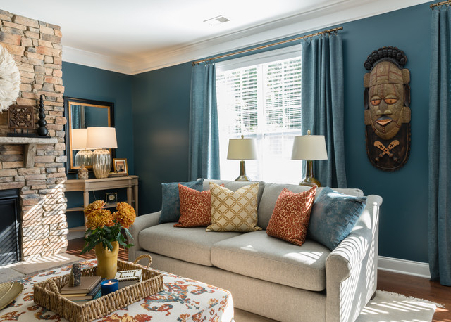 African Inspired Living - Transitional - Charlotte - by ...