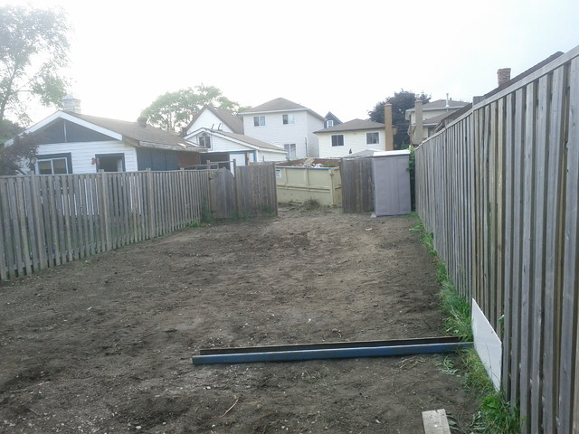 hamilton backyard makeover before and after traditional - Backyard Before And After