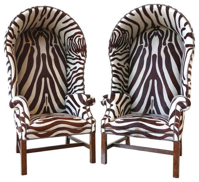 Butleru0027s Chairs In Full Zebra Print   $14,000 Est. Retail   $9,500 On  Chairish.