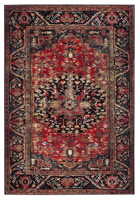 Safavieh Vintage Hamadan Rug, Red/multi, 9&x27; X 12&x27;.
