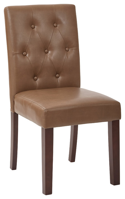 transitional espresso game chair