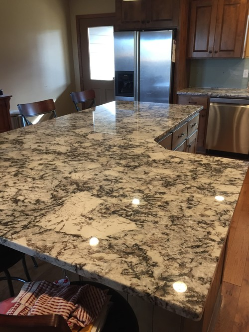 Cold Springs Granite Countertops : What backsplash to go with cold spring granite