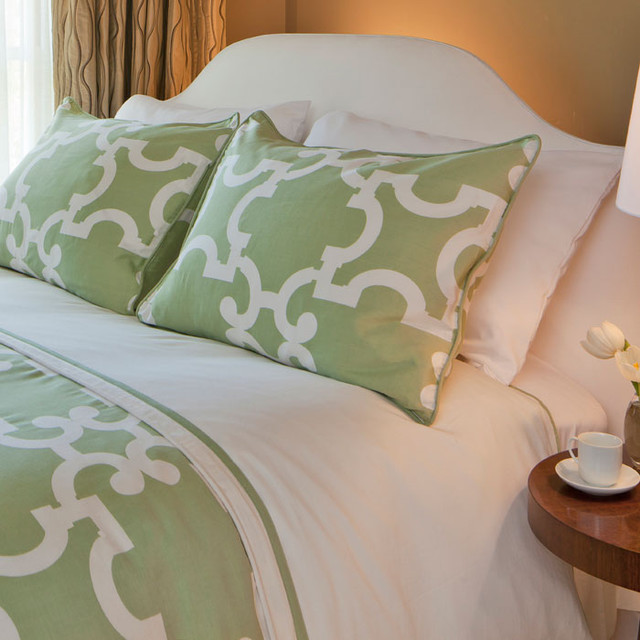 Spring Green Noe Duvet Cover Contemporary Covers Sets By Crane Canopy