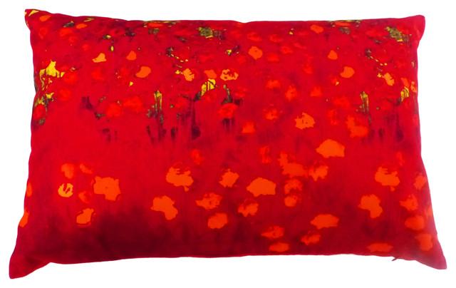 Red Field Cushion