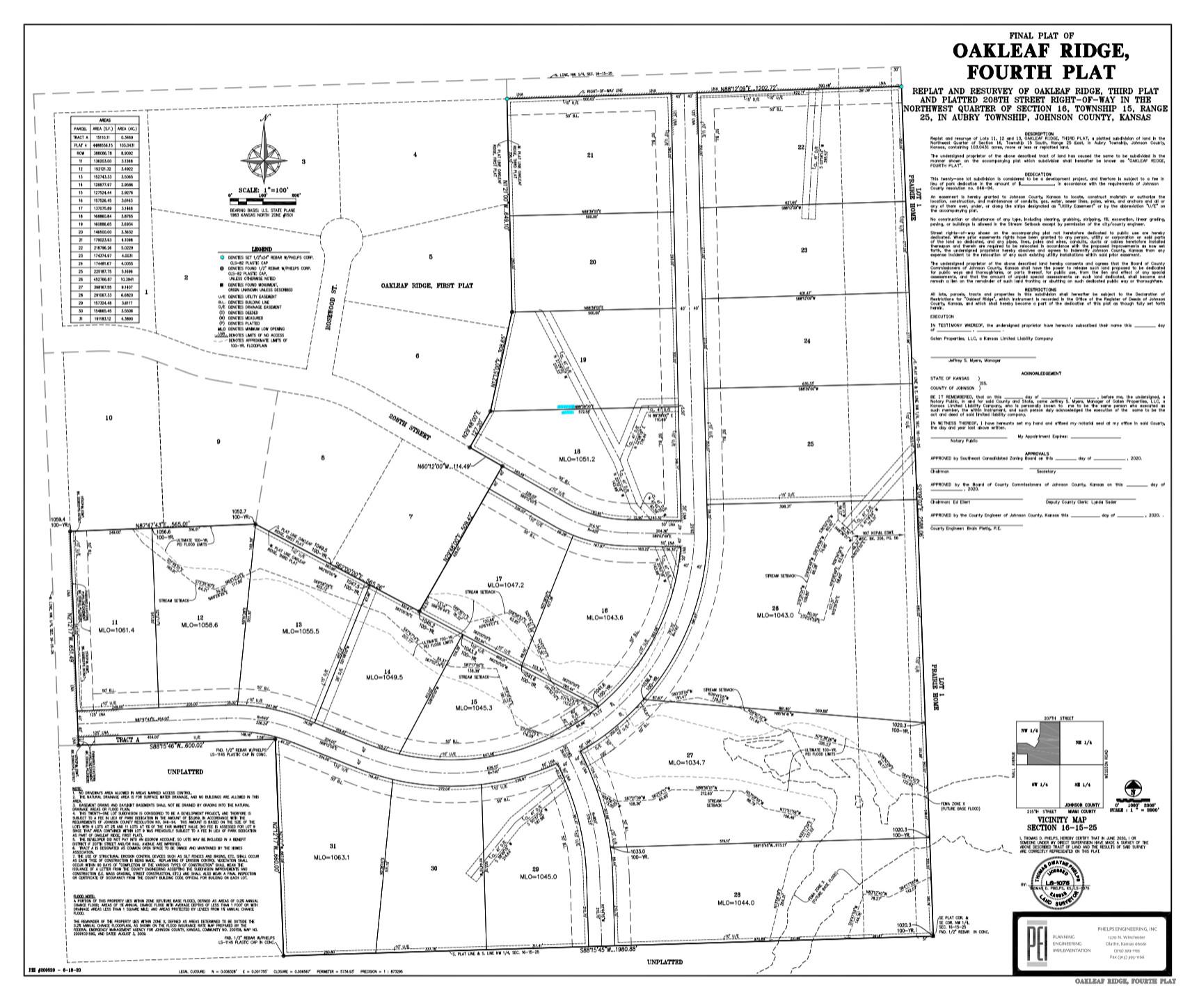 Oakleaf Ridge Estates Phase 2