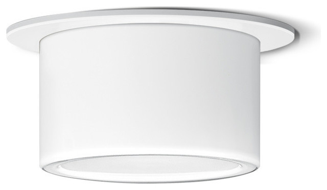 Led Recessed Ceiling Luminaire With Ic Installation Housing.