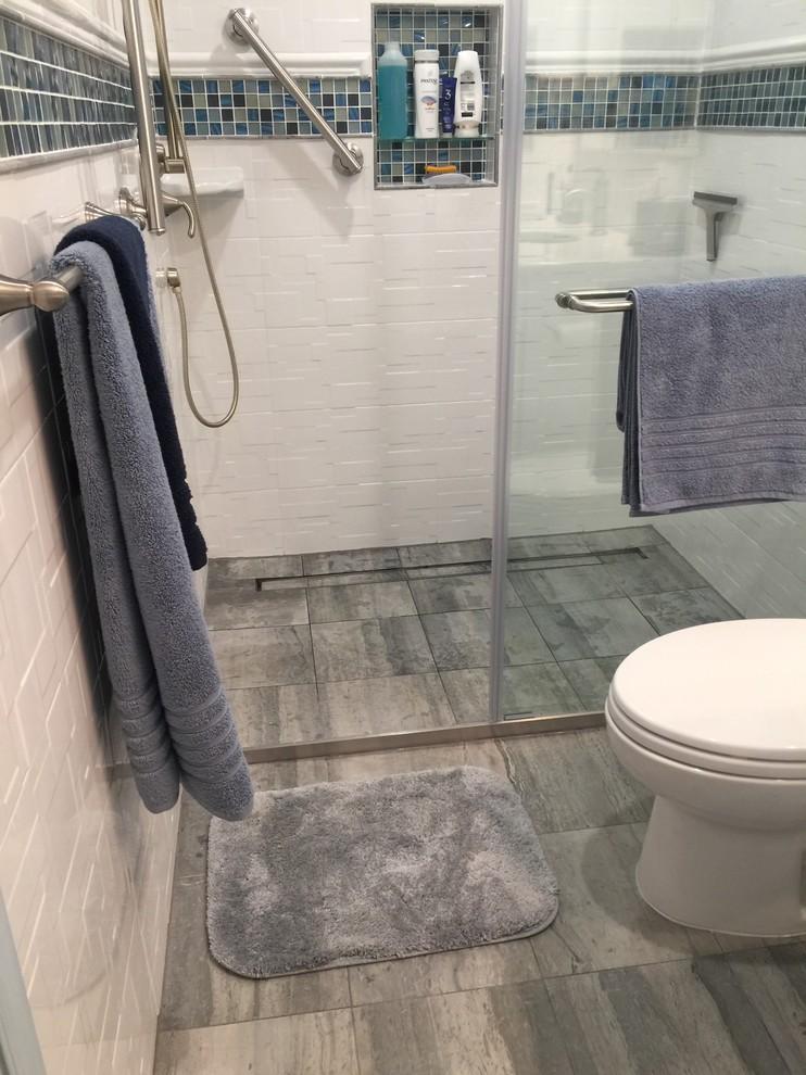 Barrier Free Walk-in Shower