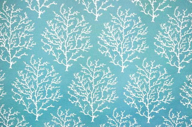 Coral fabric pool blue upholstery crackle turquoise aqua for Table coral sample