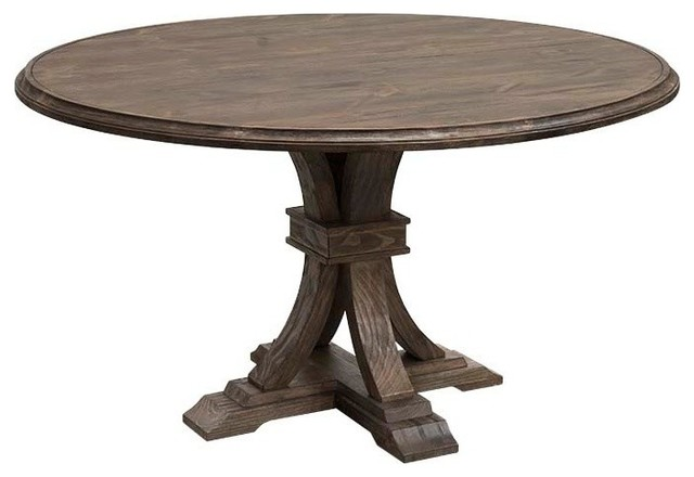round rustic dining table anthropology signature rustic dining table 4901