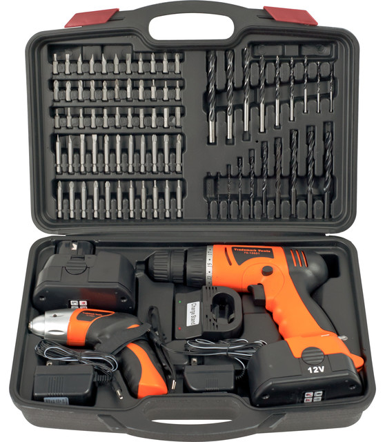 74 Piece Combo Cordless Drill & Driver By Stalwart.