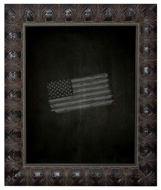 American Made Rayne Feathered Accent Blackboard Chalkboard
