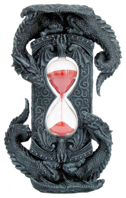 Dragon Sand Timer - Traditional - Holiday Accents And Figurines ...