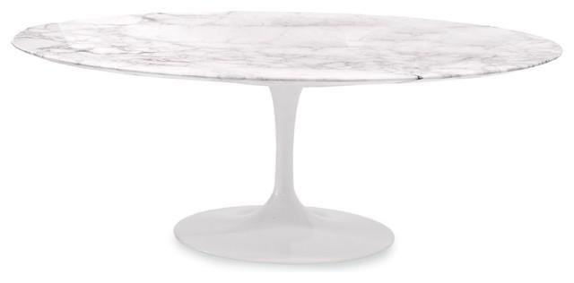Saarinen Low Oval Coffee Table Modern Coffee Tables