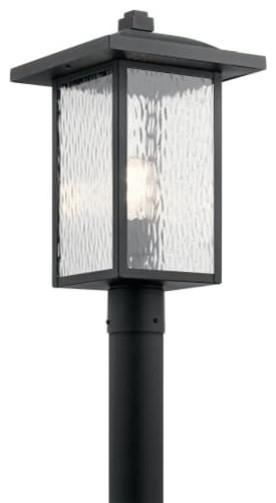 "Kichler Capanna Single Light 18-1/4"" Outdoor Single Head Post Light"
