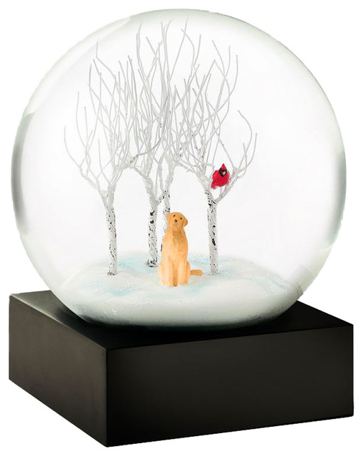 Coolsnowglobes Lab In The Woods Glass Beautiful Snow Globe
