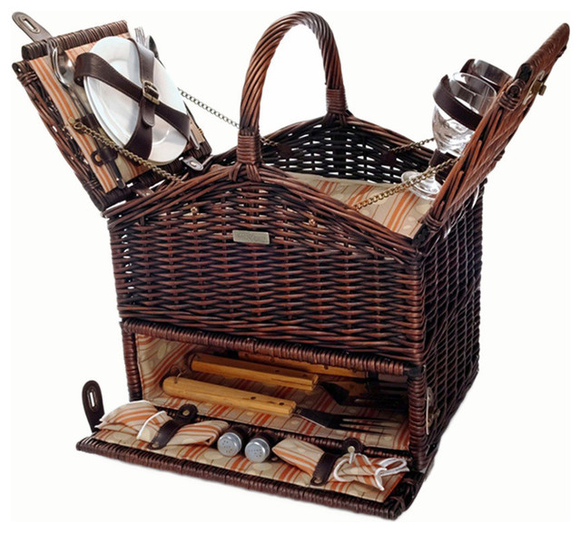 Picnic And Beyond Outdoor Travel The Clique Elite Basket For 2 Tropical Baskets By Clickhere2