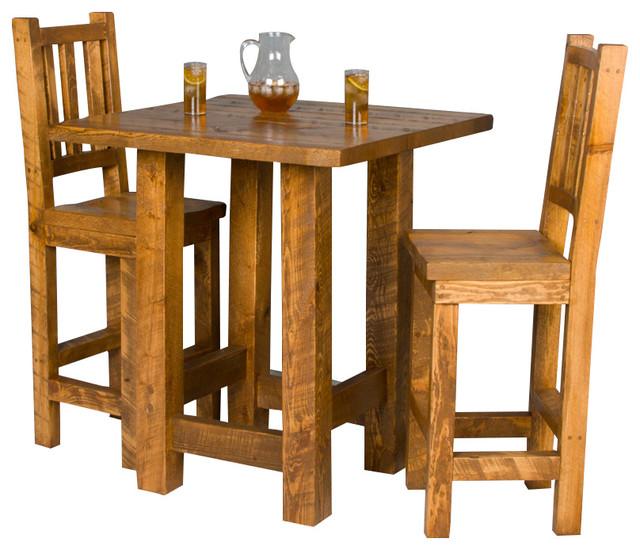 Pleasing Barnwood Pub Table And Chair Set Download Free Architecture Designs Estepponolmadebymaigaardcom