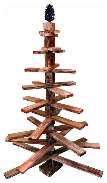 Rotating Wooden Christmas Tree