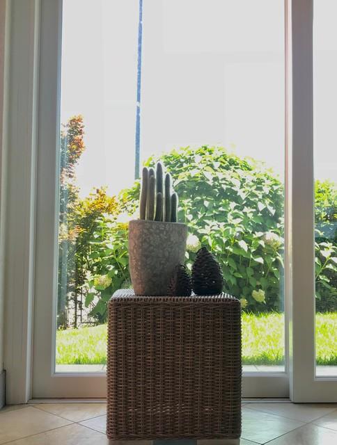 Ispirazione per una veranda contemporanea